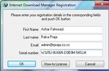 Serial Key For Idm 6.19